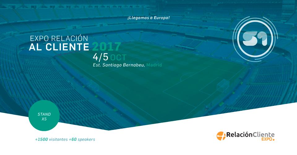 S1 participará en Expo Relación Cliente 2017, 4 y 5 de Octubre en Madrid