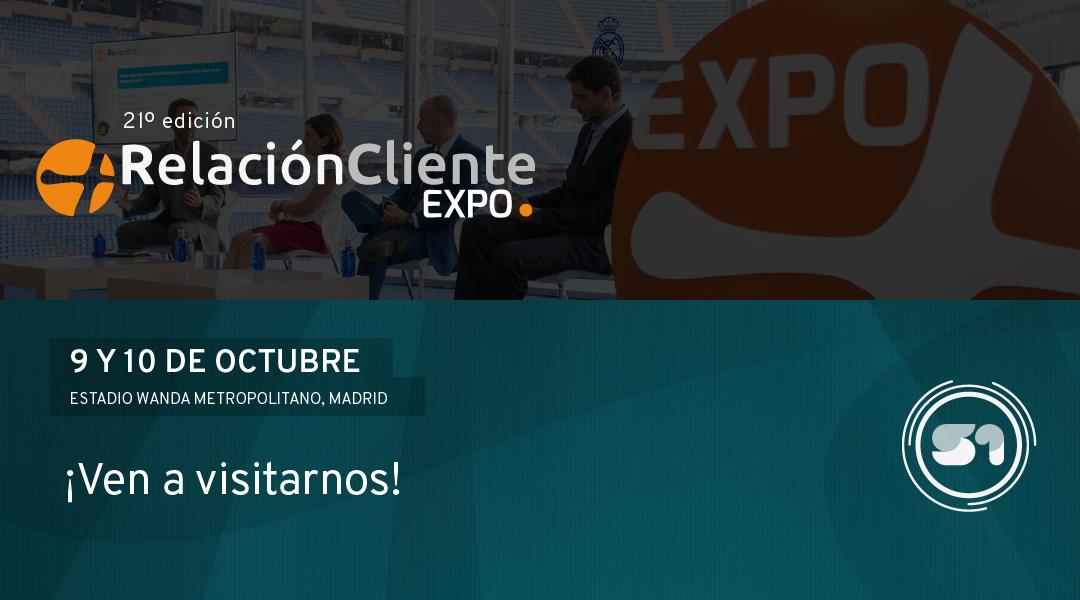 S1 presente en la Expo Relacion Cliente 2018 en Madrid